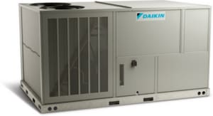 Daikin DCG Series 12.5 Tons 210 MBH 208/230V Three Phase Commercial Packaged Gas/Electric Unit GDCG1502103BXXX