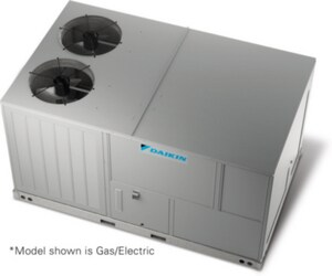 Daikin DCC 12.5 Tons R-410A Single-Stage Commercial Packaged Air Conditioner GDCC150XXX4VXXX