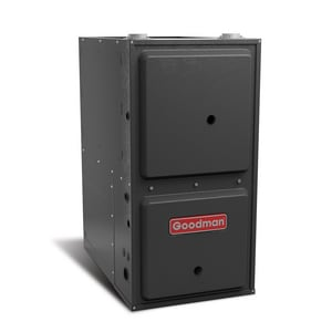 Goodman GCSS92 Series 21 in. 100000 BTU 92% AFUE 5 Ton Single-Stage Downflow and Horizontal 3/4 hp Natural Gas Furnace GGCSS921005CN