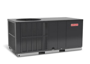 Goodman GPC14H 2 Tons Electric 1C-Stage and Single-Stage Horizontal Packaged Air Conditioner GGPC1424H41