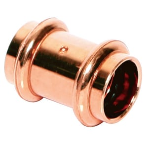 Streamline® 1 in. Press Copper Coupling with Stop MPF10147