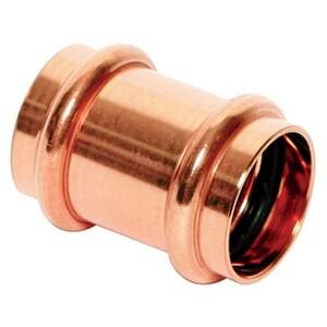Mueller Industries Streamline® PRS™ Press Copper No Stop Coupling MPF0190