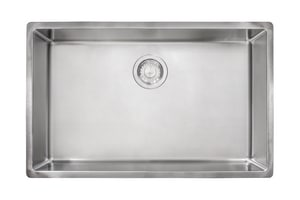 Franke Consumer Products Cube 1-Bowl Undermount Kitchen Sink in Stainless Steel FCUX11027ADA