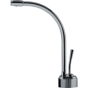 Franke Logik 0.5 gpm 1 Hole Deck Mount Cold Water Dispenser with Single Lever Handle in Polished Nickel FDW9070C