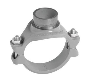 Victaulic FireLock™ Style 920 3 x 3 x 1 in. FNPT Mechanical Reducing Tee VDOMCC3892NGE0