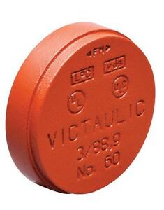 Victaulic FireLock™ Style 60-C 14 in. Grooved Ductile Iron Cap VA140060LFL-NR