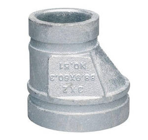 Victaulic FireLock™ Style 51-C 12 x 6 in. Grooved Ductile Iron Eccentric Reducer VAG32051IFL-NR