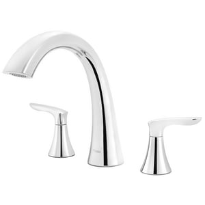 Pfister Weller™ Two Handle Roman Tub Faucet in Polished Chrome (Trim Only) PRT65WRC