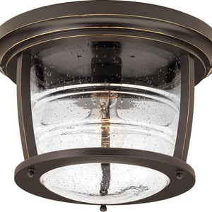 Progress Lighting Signal Bay 1-Light Flushmount in Oil Rubbed Bronze PP5638108