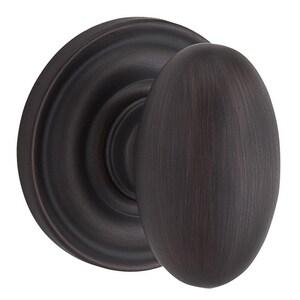 Baldwin Ellipse™ Half Dummy Door Knob in Venetian Bronze B9BR3500003
