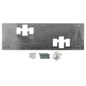 Haws 12 in. Double Fountain Mounting Plate H67004