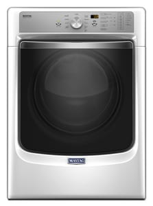 Maytag 7.4 cf 10-Cycle Electric Front Load Dryer in White MMED8200F