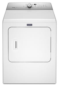 Maytag Dryer with Steam Enhanced Cycle in White MMEDB766FW