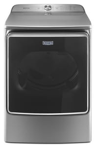 Maytag 43-7/16 in. 9.20 cf Extra Large Capacity Gas Dryer with Extra Moisture Sensor in Metallic Slate MMGDB955FC