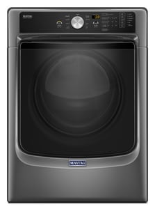 Maytag Professional Series 7.4 cf 9-Cycle Front Load Dryer with Sanitize Cycle and Powerdry System in Metallic Slate MMGD5500FC