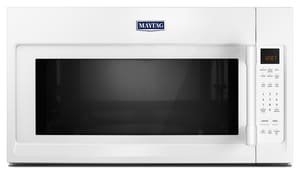 Maytag 2 cf Over-the-Range Microwave with Interior Cooking Rack in White MMMV4206F