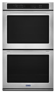 Maytag Double Wall Oven with True Convection in Stainless Steel MMEW9630FZ