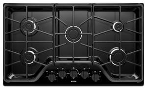 Maytag 5-Burner Gas Cooktop in Black MMGC7536DB