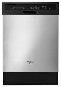Whirlpool 15A Built-In Dishwasher in Stainless Steel WWDF550SAFS