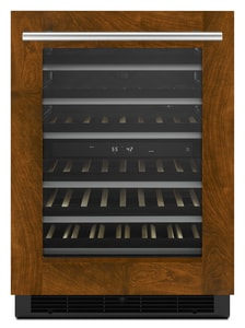Jennair 4.7 cf Built-In Under-Counter Wine Cellar in Panel Ready JJUW24FLECX