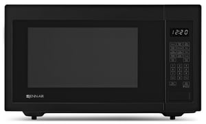 Jennair 21-3/4 in. 1.6 cf 1200W Countertop Microwave Oven in Black JJMC1116AB