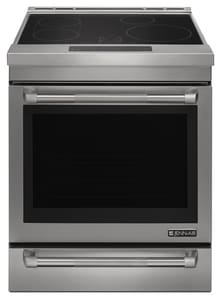 Jennair 4-Burner Slide-In Induction Range in Pro Style Stainless JJIS1450DP