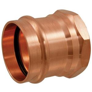 NIBCO Press System® 1 x 1-1/4 in. Wrot Copper Press x Female Reducing Adapter NPC603LD