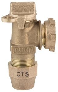 Ford Meter Box 1 in. Yoke Nose x Grip Joint Water Service Valve FAV94444WGNL