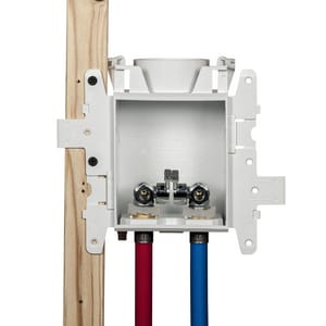 Oatey Moda™ 3/8 in. PEX Lavatory Supply Box with Standard Pack O37745