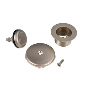 Dearborn Brass UltraShine® Waste and Overflow Drain Tabletop Satin Nickel DEAK74TSN
