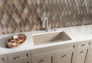 Blanco America Diamond™ 33-1/2 x 18-1/2 in. Composite Single Bowl Undermount Kitchen Sink in Anthracite B441764