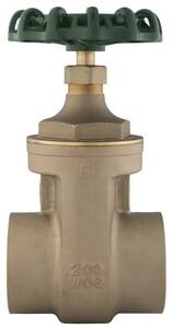 PROFLO® 1-1/4 in. Brass Full Port Sweat Gate Valve PFXT300SH at Pollardwater