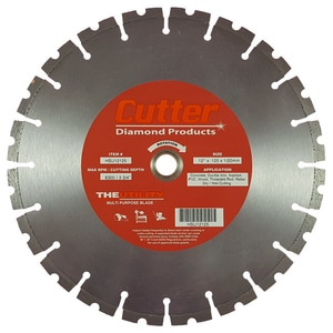 Cutter Diamond Products The Utility 12 in Multi-Purpose Blade CHSU11