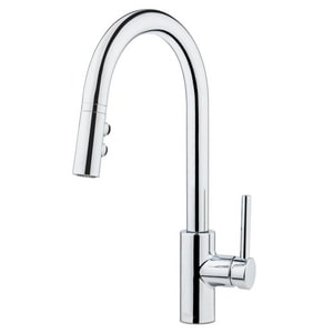 Pfister Stellen™ Single Handle Pull Down Kitchen Faucet in Polished Chrome PLG529SA