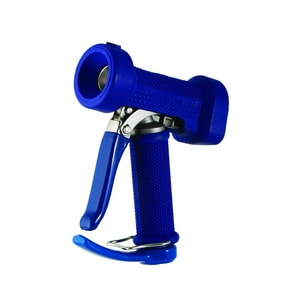 T&S Brass 1/2 in. Stainless Steel and Rubber Water Gun Front Trigger in Blue TMV252244