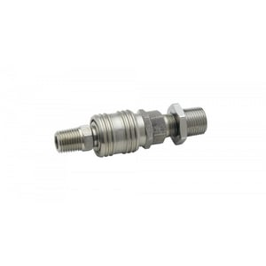 T&S Brass Quick Disconnect Coupling in Stainless Steel TB0452