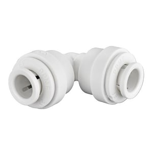 John Guest USA Speedfit® 1/4 in. OD Tube Union Straight Polypropylene 90 Degree Single Elbow JPP03WP
