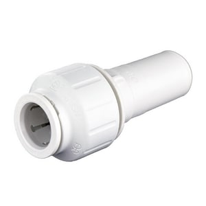 John Guest USA Speedfit® 3/4 x 1/2 in. Stem x CTS 160# Plastic Single-Packed Reducer JPEI062820P