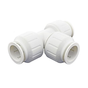 John Guest USA Speedfit® 3/4 in. CTS Union Straight PEX Tee 2 Pack JPEI0228