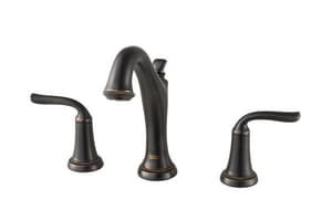 American Standard Romantic Two Handle Bathroom Sink Faucet in Legacy Bronze A7106801278