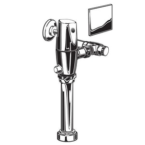 American Standard Selectronic® Sensor Operated Toilet Flush Valve in Polished Chrome A6065525002