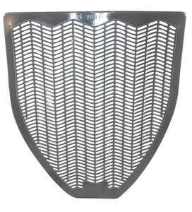 Impact® Z-Mat Urinal Mat 20 in x 18 in in Grey (6 Case) IMP1525