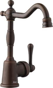 Danze Opulence™ Single Handle Lever Handle Bar Faucet in Tumbled Bronze DD150557BR