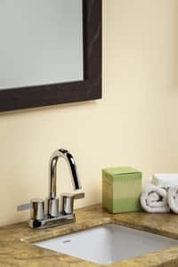 Gerber Plumbing Amalfi™ Two Handle Centerset Bathroom Sink Faucet in Polished Chrome GD301130