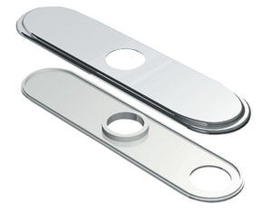 Danze Traditional 8 in. Centerset Cover Plate Chrome DD493172