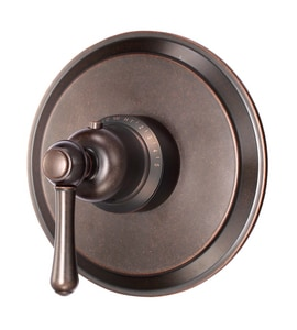 Danze Opulence™ Thermostatic Shower Faucet Trim with Single Lever Handle in Tumbled Bronze DD562057BRT
