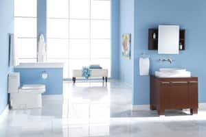 Danze Parma® 3-Hole Lavatory Faucet with Double Lever Handle DD316658T