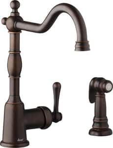 Danze Opulence™ Single Handle Kitchen Faucet in Tumbled Bronze DD401157BR