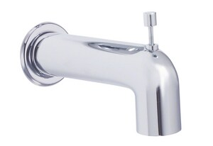 Danze Parma® 6-3/8 in. Wall Mount Tub Spout with Diverter in Polished Chrome DDA666934