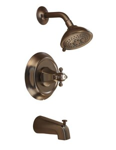 Mirabelle® Boca Raton® Single Handle Multi Function Bathtub & Shower Faucet in Oil Rubbed Bronze Trim Only MIRBR8030EORB